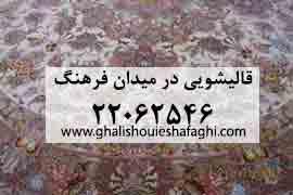 قالیشویی در میدان فرهنگ