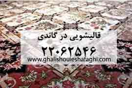 قالیشویی در گاندی